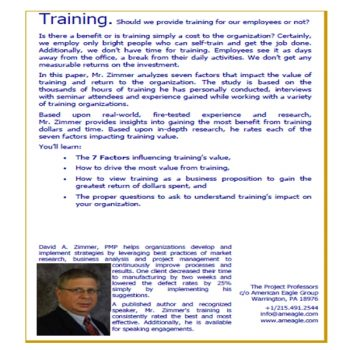 Training's Impact On Your Business